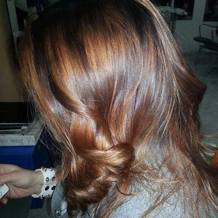 #capelli #sfumato #degrade #nicolacapelli #capellilunghi #Extension #colore #ramato #biondoramato #riflessi