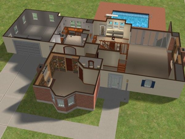 Mod The Sims Bewitched House Plan Maison Pinterest