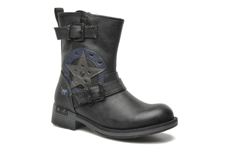 Wanka Mustang shoes (Noir) : livraison gratuite de vos Bottines et boots Wanka Mustang shoes chez Sarenza