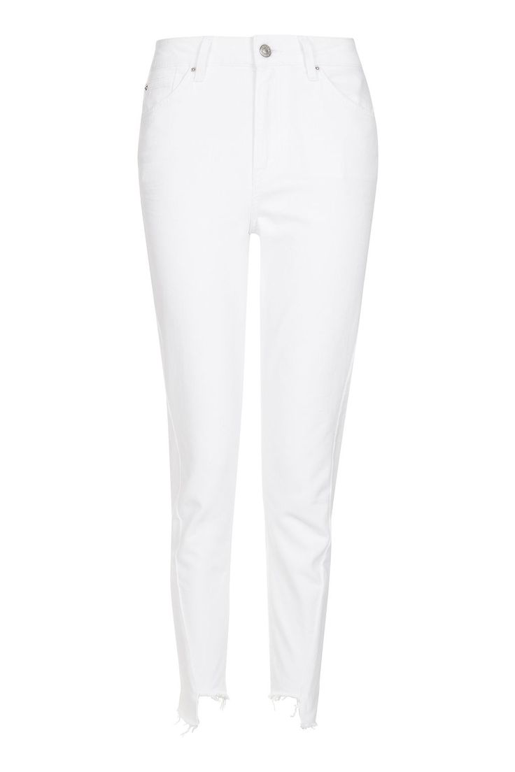 MOTO White Twisted Seam Mom Jeans // Topshop