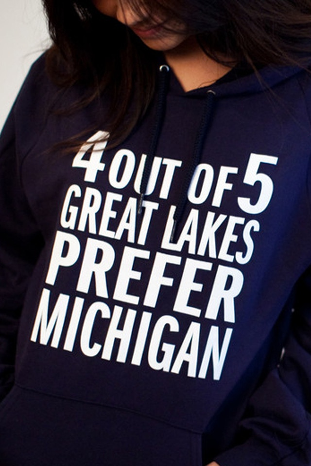 4 Out Of 5 Hoodie (Michigan Awesome.. tons of other great things on this site!)