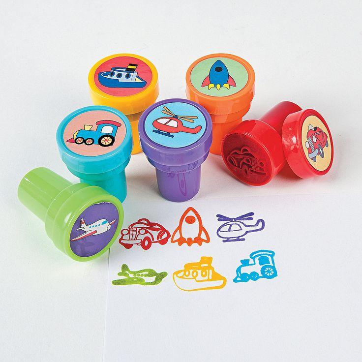 Transportation Stampers - OrientalTrading.com