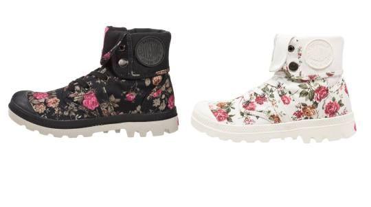 Palladium Pallabrose Baggy Botines Con Cordones Black Pink botas y botines Pink Palladium Pallabrose Con Cordones Botines black BAGGY Noe.Moda