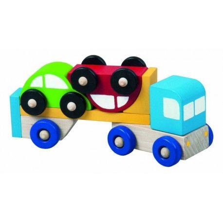 Truck s autíčky