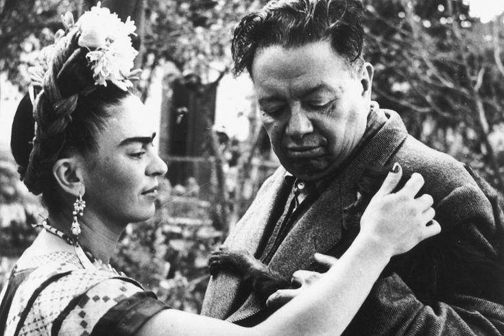 """Frida Kahlo'nun """"Başıma Gelen En büyük Felaket"""" Dediği Kocası Diego Rivera'ya Yazdığı Aşk Mektupları - http://www.aylakkarga.com/frida-kahlonun-basima-gelen-en-buyuk-felaket-dedigi-kocasi-diego-riveraya-yazdigi-ask-mektuplari/"""