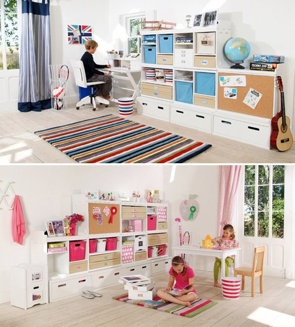 Kiddies Bedroom Storage Solutions From NEST [The Design Tabloid]