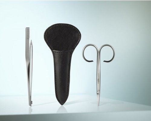 Stecketui Eyebrow Trim - #beauty #Kosmetik #eyebrows #Augenbrauen #scissors #Schere #tweezers #Pinzette - Rubis Switzerland