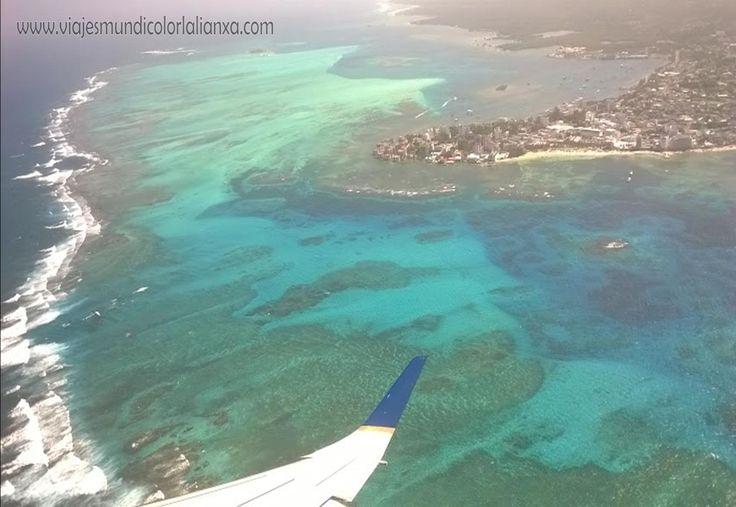 San Andrés desde el aire