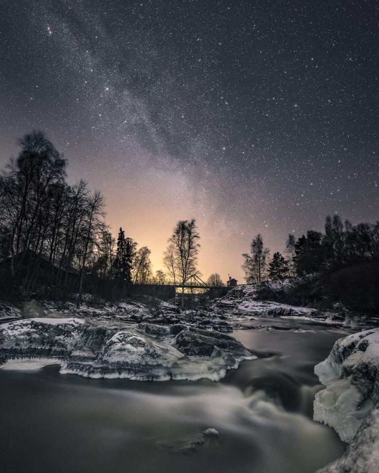 Last night I was finally able to shoot some stars again... #nautelankoski #lieto - Timo Oksanen (@timoksanen) | Twitter