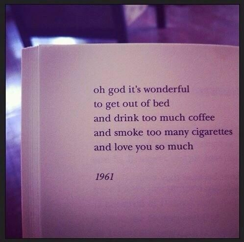 https://twitter.com/jenbee/status/421137445946929152/photo/1Lights Book, Gladys Lights, Cigarettes Quotes, Drinks Coffee, Book Inspiration, Frank O' Hara, Drink Coffee, Frank Ohara, Cities Lights