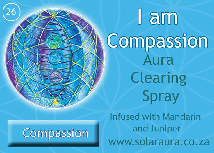 26- aura clearing spray compassion