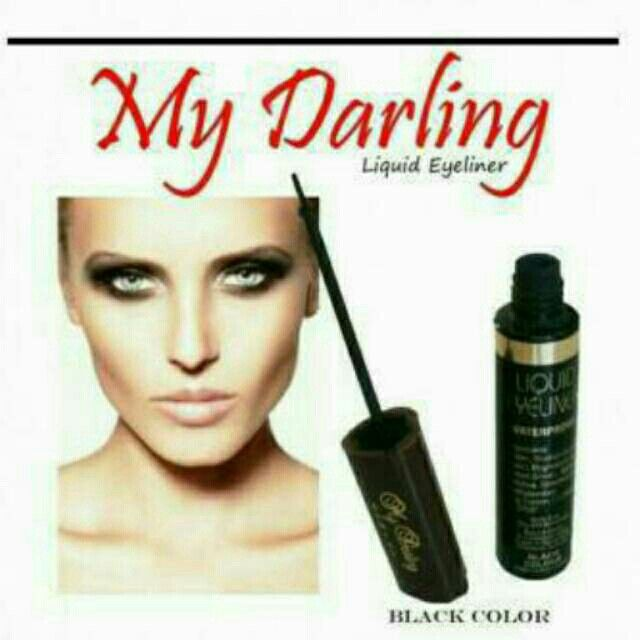 Saya menjual Eyeliner My Darling / My Darling Liquid Eyeliner seharga Rp35.000. Ayo beli di Shopee! https://shopee.co.id/cosmetic_hq/47970384