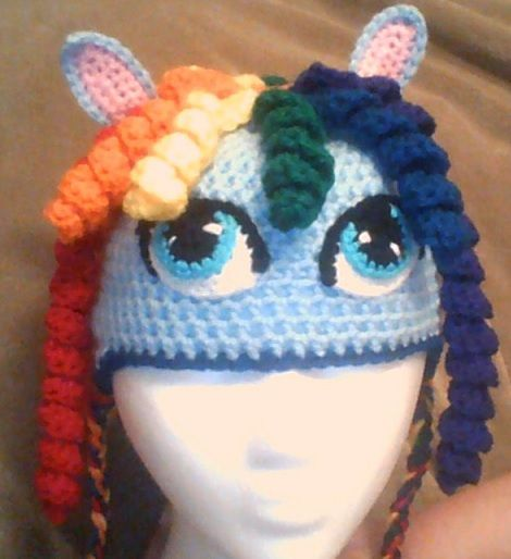 Free Crochet Pattern For My Little Pony Eyes : 34 best Crochet mlp images on Pinterest