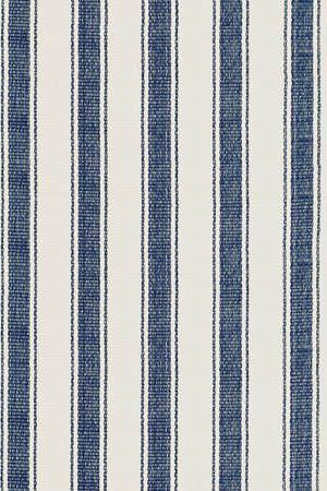 #DashAndAlbert Blue Awning Stripe Woven Cotton Rug