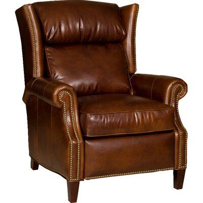 Bradington-Young Broderick Leather Recliner | Wayfair