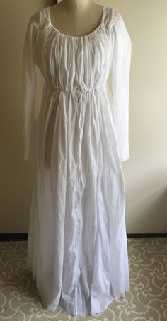 Easy Chemise Dress (with Instructions)