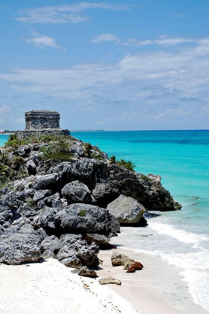 Mayan Ruins in Tulum..a must do! Experienced through our cruise late aug of 12'..amazing experience..I have an album dedicated to it on my FB page :)