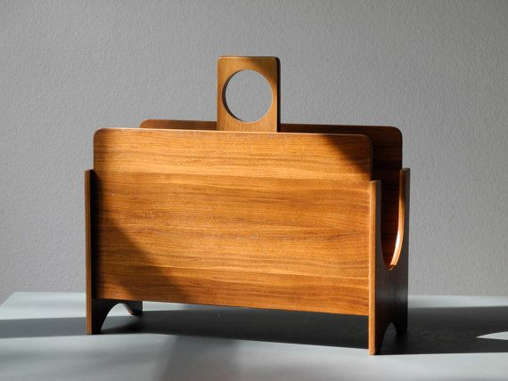 Hey, I found this really awesome Etsy listing at https://www.etsy.com/listing/231429571/mid-century-teak-plywood-magazine-rack