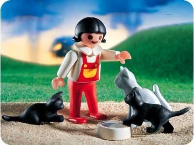 Playmobil 4605 Girl with Cats