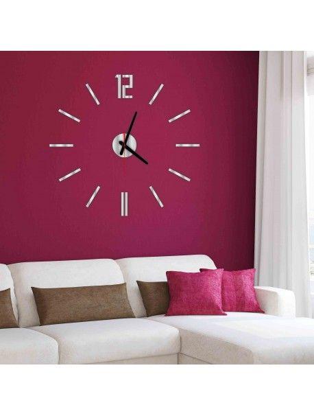 Moderne Wanduhr LUIS, Farbe: silber, Spiegel Artikel-Nr.:  X0019-SILVER-BLACK hands Zustand:  Neuer Artikel  Verfügbarkeit:  Auf Lager  Die Zeit ist reif für eine Veränderung gekommen! Dekorieren Uhr beleben jedes Interieur, markieren Sie den Charme und Stil Ihres Raumes. Ihre Wärme in das Gehäuse mit der neuen Uhr. Wanduhr aus Plexiglas sind eine wunderbare Dekoration Ihres Interieurs.