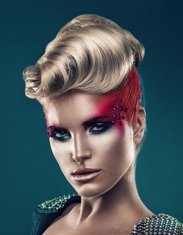Disco Night Club Frisuren Für Frauen Club Hairstyles Disco Night