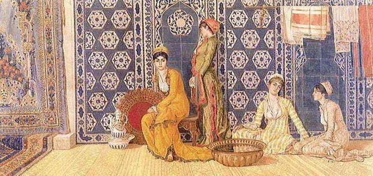 """Harem"" by Osman Hamdi Bey"
