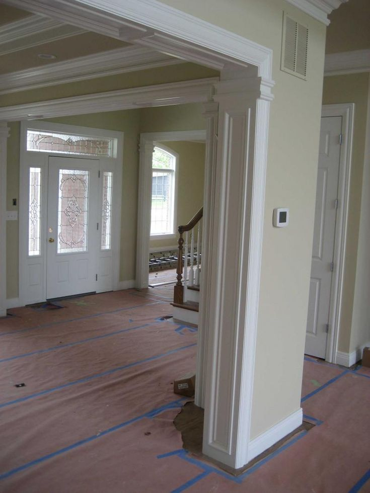 61 best windows baseboards crown molding images on for Baseboard and door trim