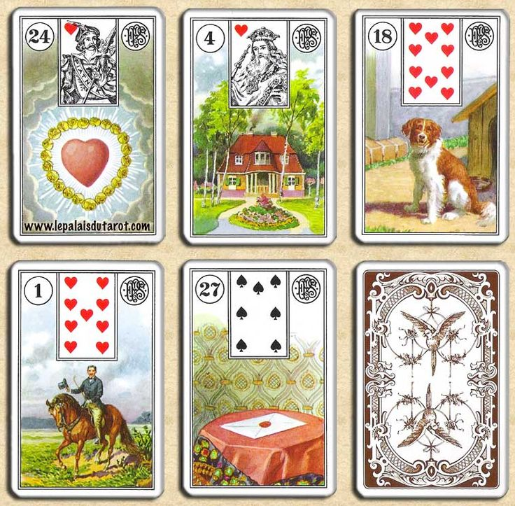 57 best images about Lenormand kaarten - Cartomancy