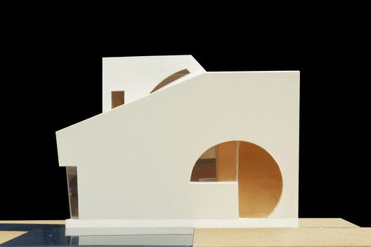 "Steven Holl Architects Breaks Ground on the ""Ex of In"" House in New York,Model. Image Courtesy of Steven Holl Architects"
