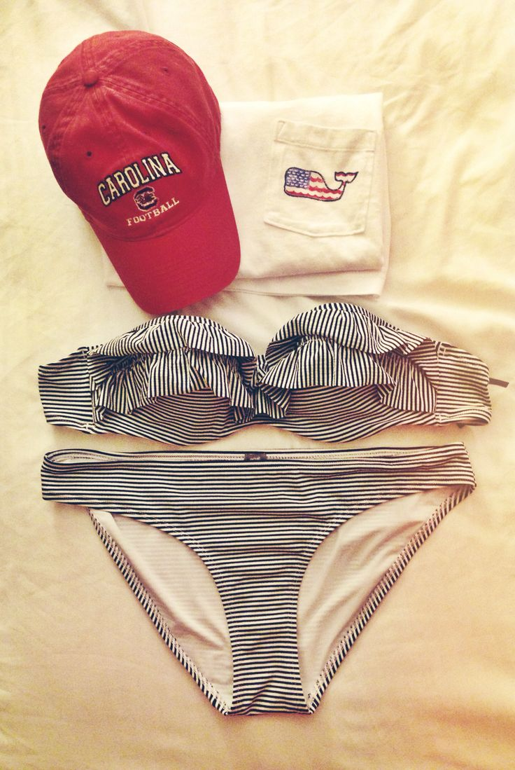 fourth of july beachwear seersucker, vineyard vines, gamecocks Visit my site Real Techniques brushes makeup -$10 http://youtu.be/Ma9w3IGLEzA #bikini