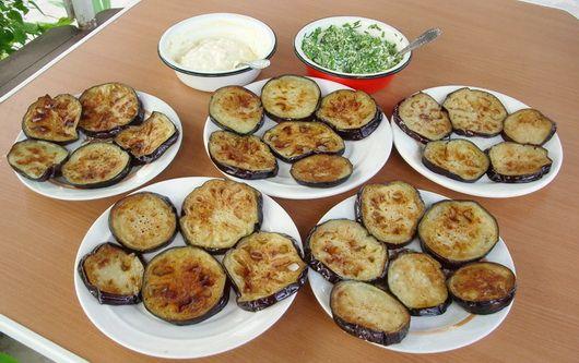 Жареные баклажаны - Рецепты жареных баклажанов - Как правильно