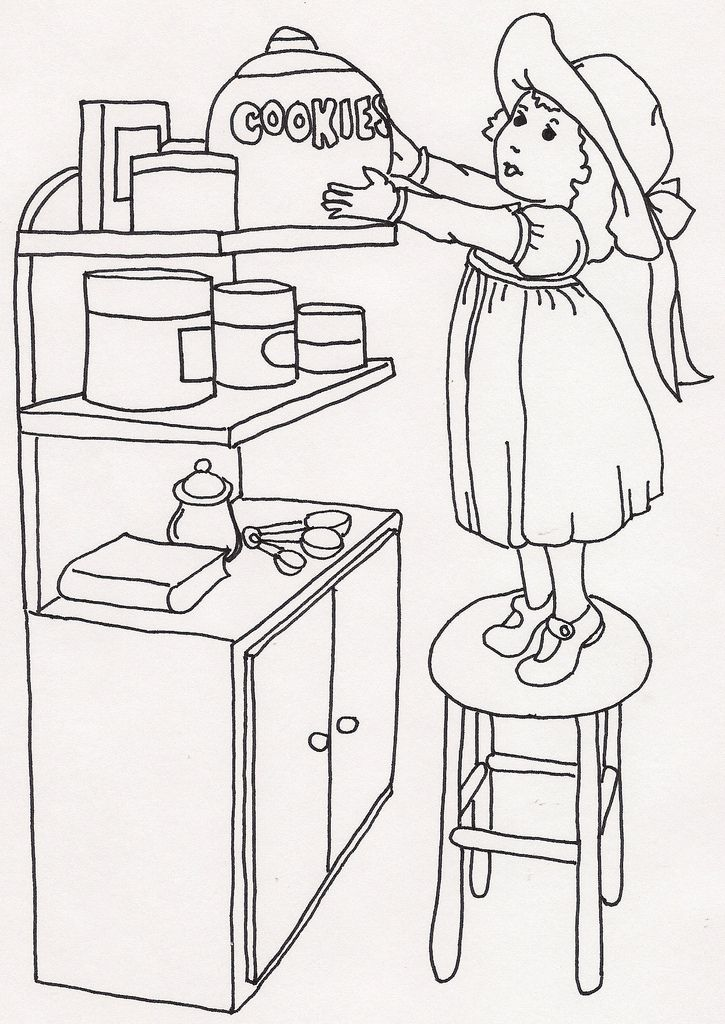 auntie xiuzhen coloring book pages - photo#24