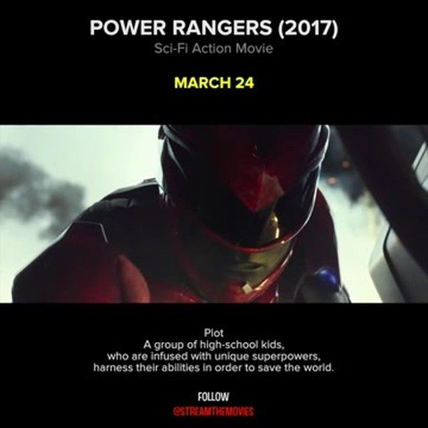 POWER RANGERS A group of high-school kids, who are infused with unique superpowers, harness their abilities in order to save the world.  Stars: Bryan Cranston, Elizabeth Banks, Bill Hader, Naomi Scott, Becky G., Dacre Montgomery, Ludi Lin, RJ Cyler  #powerrangers #scifi #movies #newmovies #newmovie #instamovies #cinema #comingsoon #streamthemovies #superpowers #bryancranston #netflix Reposted Via @movieclipsmania
