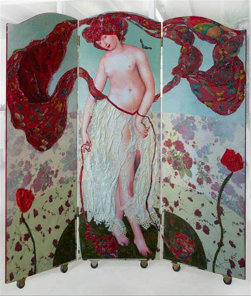 Kamerscherm Tala Carmina serie Demoiselles door MargrietThissen