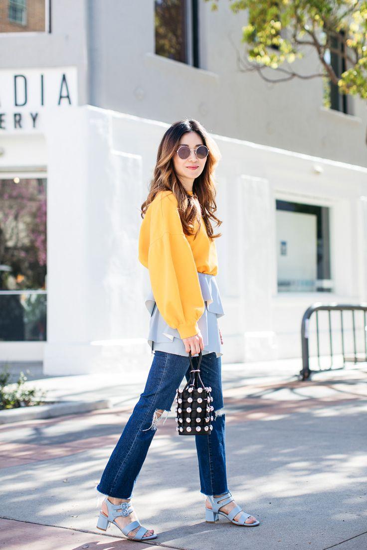Stylewich by Elizabeth Lee, Fashion Blogger, Outfit Ideas, Style Inspiration, Spring Fashion, Alexander Wang Mini Roxy Bag, Marais Jardin Heels