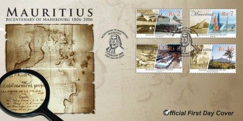 2006 Mauritius Stamps First Day Covers - FDC - Mahebourgh