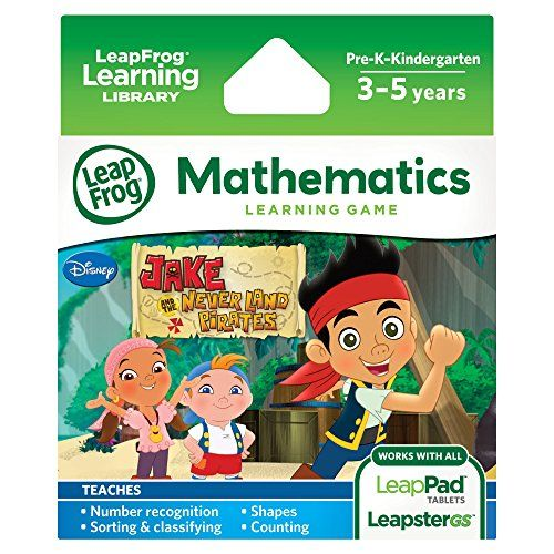 LeapFrog Jake and The Never Land Pirates Learning Game, 2016 Amazon Top Rated Children's Software  #Toy