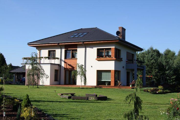 Projekt domu Topaz 3 ogród