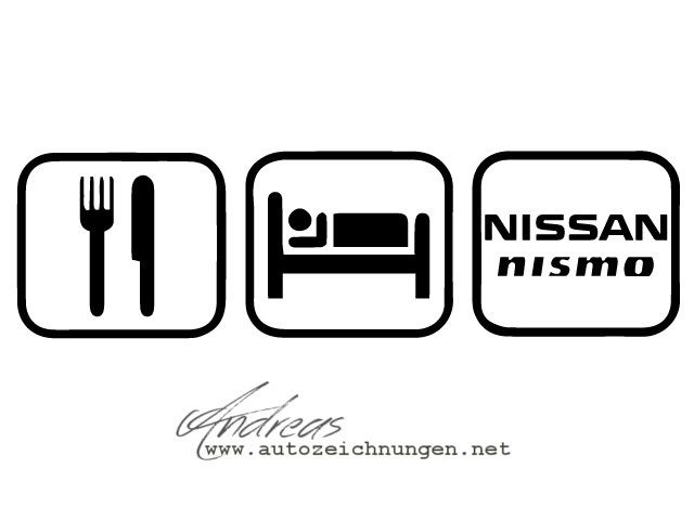 https://flic.kr/p/uEfVZ4 | Vector Illustration ‪#‎eatsleepRACErepeat‬ #Nissan #NISMO | ‪#‎eatsleepRACErepeat -‬ Vector Illustration Day 165/365