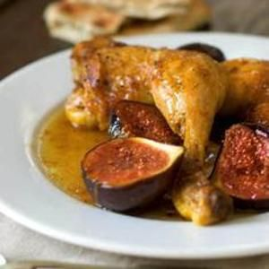 The Zuni Cafe's Chicken Braised With Figs, Honey And Vinegar | Recipe ...