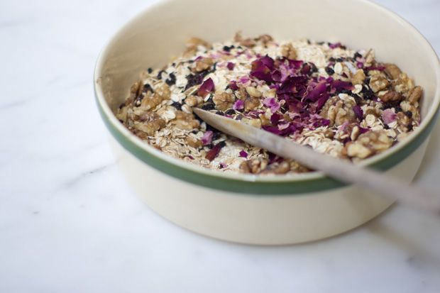101 Cookbooks: food journal + travel// Rose Petal Granola