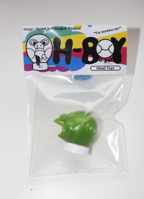New Cap! H-BOY head toy