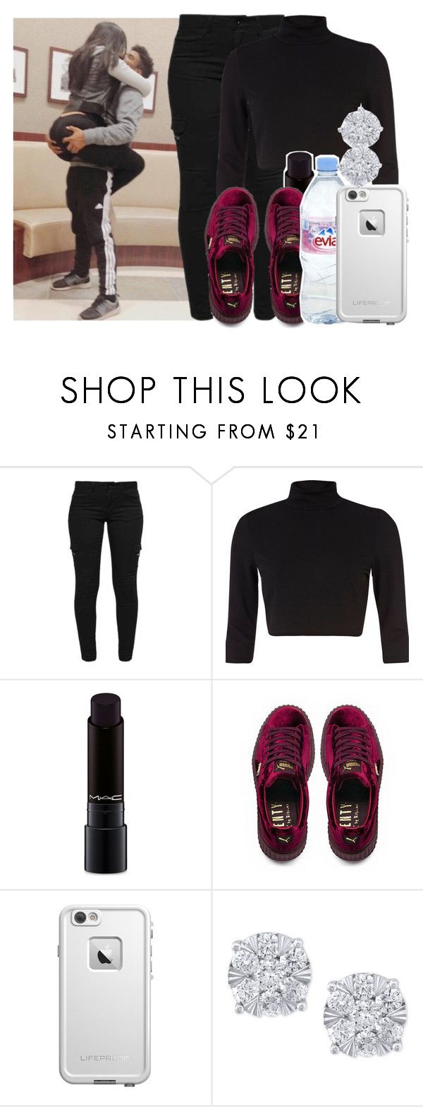 """Like you'll never see me again -Alicia keys"" by pretty-ambi ❤ liked on Polyvore featuring xO Design, River Island, MAC Cosmetics, Puma, Evian, LifeProof and Effy Jewelry"