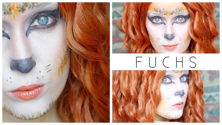 FUCHS I MAKE UP TUTORIAL I HALLOBEEN