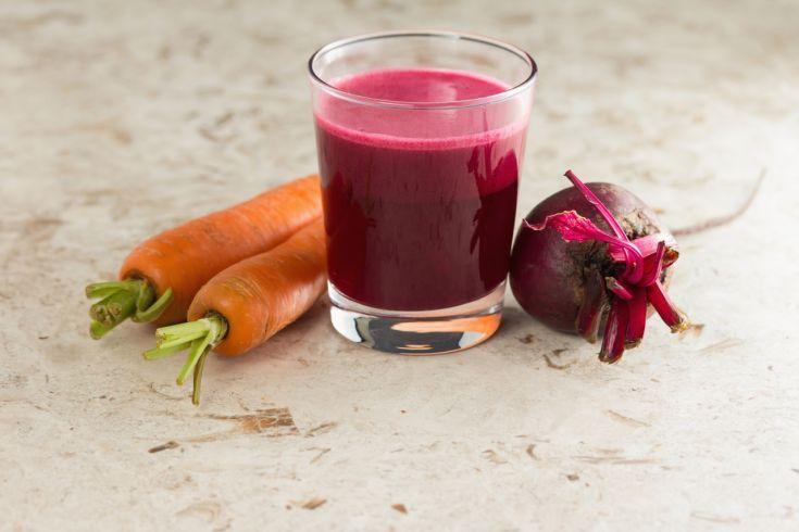 Detoxikačné smoothie s cviklou a mrkvou