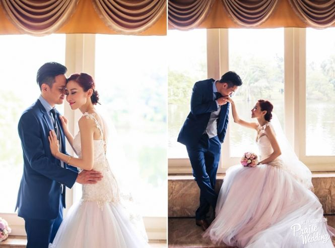 These romantic and sweet bride & groom moments are reminding us what a weding day truly stands for!