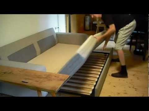 construcción sofá-cama - YouTube