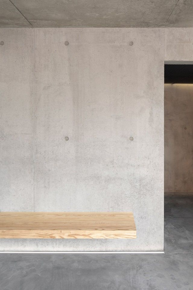 Absoglucklich: Kamppi Chapel Of Silence (Helsinki, Finland)By K2S  Architects. Wall BenchDetail DesignBlank SpaceConcrete ...
