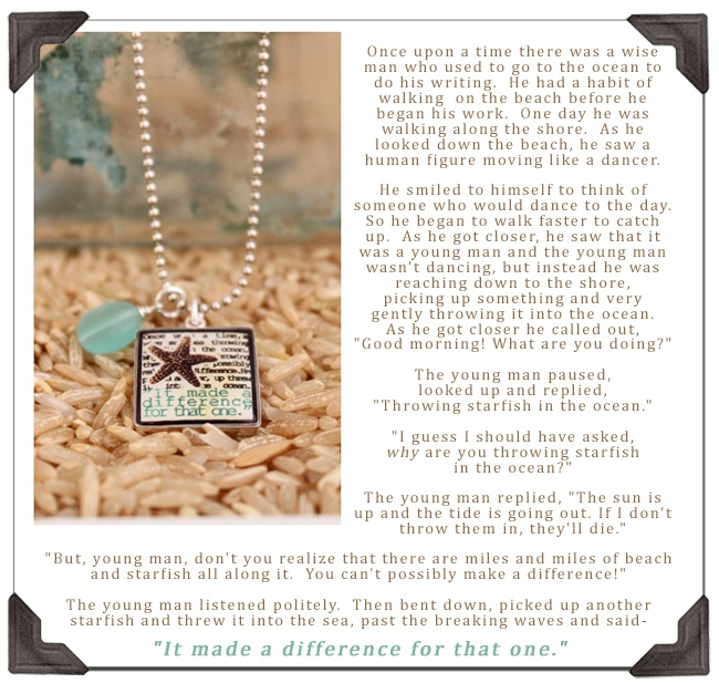 Starfish poem for teachers fraudent com