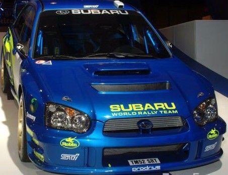 SUBARU WORLD RALLY TEAM HOOD DECAL | eBay Motors, Parts & Accessories, Car & Truck Parts | eBay!